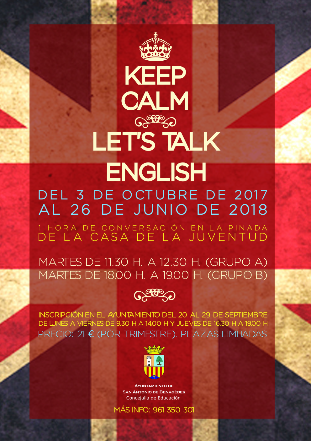 Taller Let's Talk english 2017