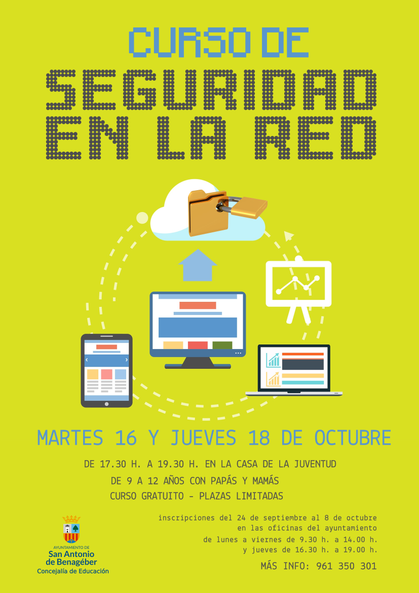 curso seguridad en la red