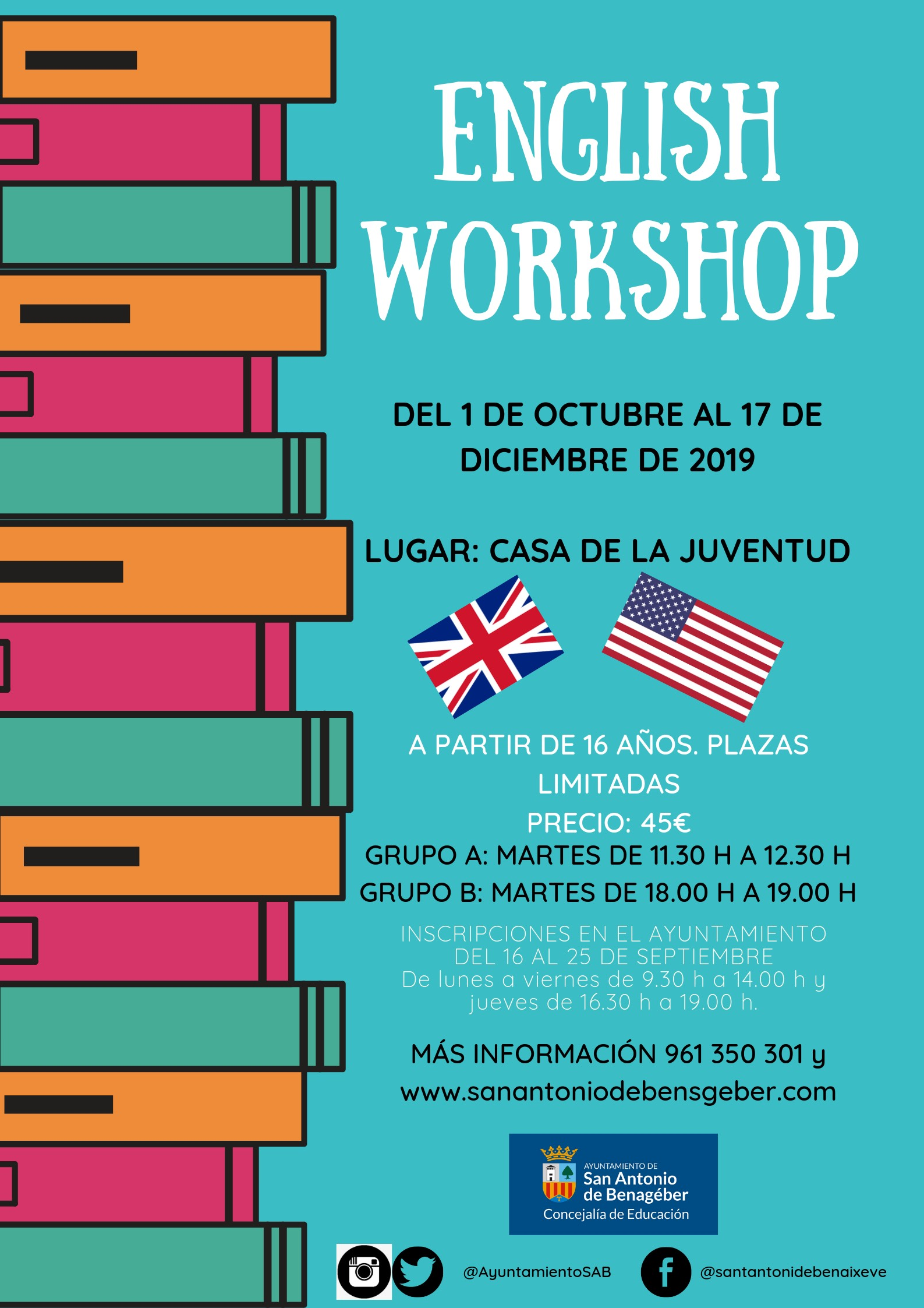 CARTEL ENGLISH WORKSHOP